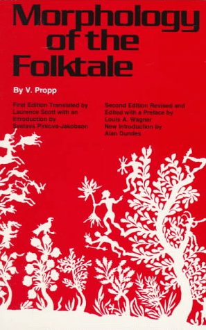 Morphology of the Folktale  2nd 1968 (Revised) edition cover