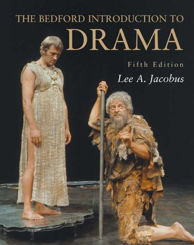 Bedford Introduction to Drama  5th 2005 edition cover