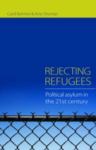 Rejecting Refugees Political Asylum in the 21st Century  2008 edition cover