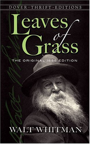 Leaves of Grass The Original 1855 Edition  2007 9780486456768 Front Cover