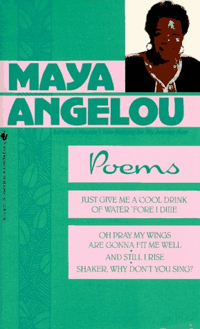 Poems Maya Angelou  1986 9780553255768 Front Cover