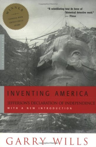 Inventing America Jefferson's Declaration of Independence  1979 edition cover