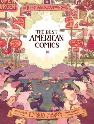 Best American Comics 2008   2008 edition cover