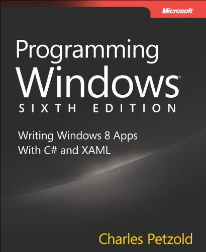 Programming Windows Writing Windows 8 Apps with C# and XAML 6th 2013 edition cover