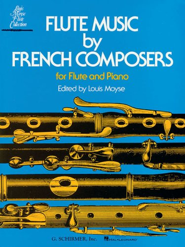 Flute Music by French Composers 1st edition cover