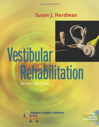Vestibular Rehabilitation  3rd 2007 (Revised) edition cover