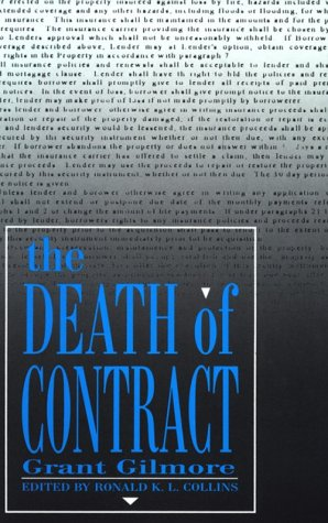 Death of Contract  2nd 1995 edition cover