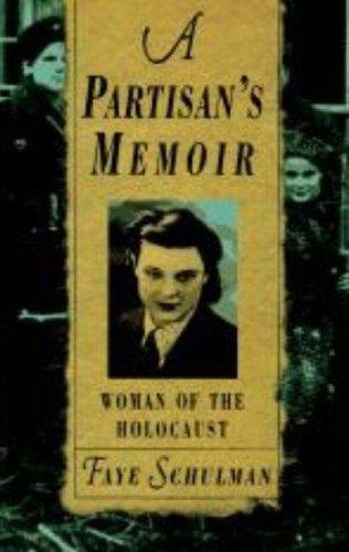Partisan's Memoir Woman of the Holocaust N/A edition cover