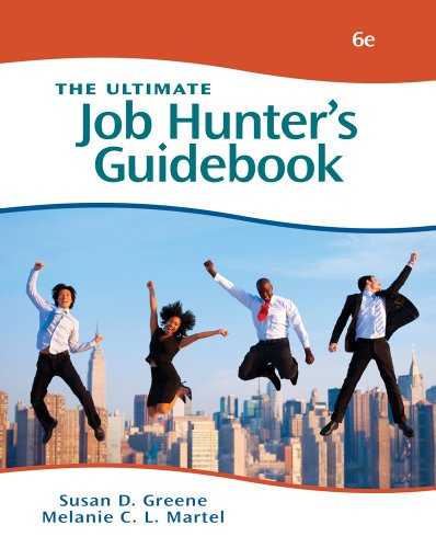 Ultimate Job Hunter's Guidebook  6th 2012 edition cover