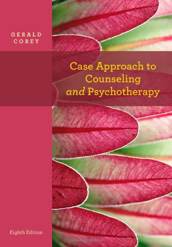 Case Approach to Counseling and Psychotherapy  8th 2013 edition cover