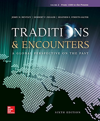 Traditions and Encounters  6th 2015 9781259675768 Front Cover