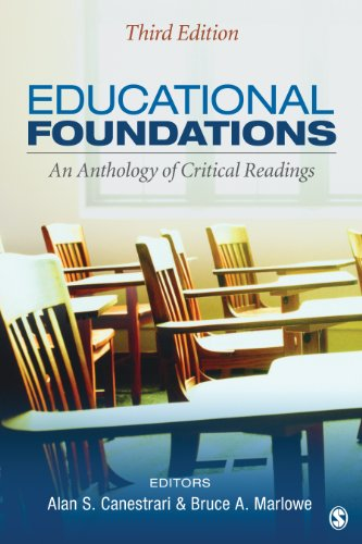Educational Foundations An Anthology of Critical Readings 3rd 2013 edition cover