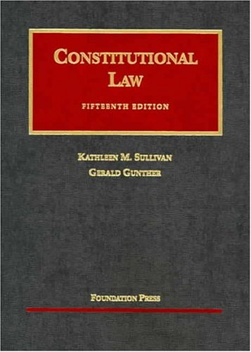 Constitutional Law  15th 2004 (Revised) edition cover