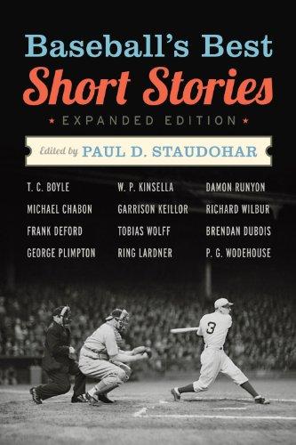 Baseball's Best Short Stories   2012 edition cover