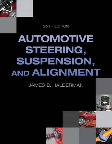 Automotive Steering, Suspension, and Alignment  6th 2014 edition cover