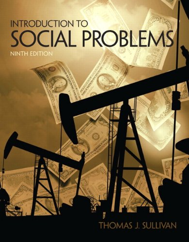 Introduction to Social Problems  9th 2012 edition cover