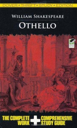 Othello Thrift Study Edition   2009 9780486475769 Front Cover