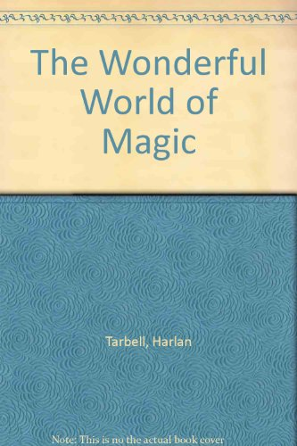 Wonderful World of Magic N/A 9780523420769 Front Cover