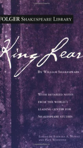 King Lear   2004 9780743482769 Front Cover