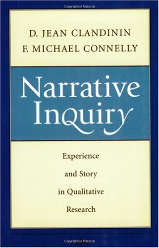 Narrative Inquiry Experience and Story in Qualitative Research  2000 edition cover