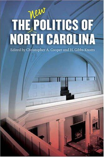 New Politics of North Carolina   2008 edition cover
