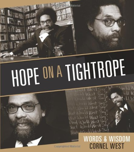 Hope on a Tightrope Words and Wisdom N/A edition cover