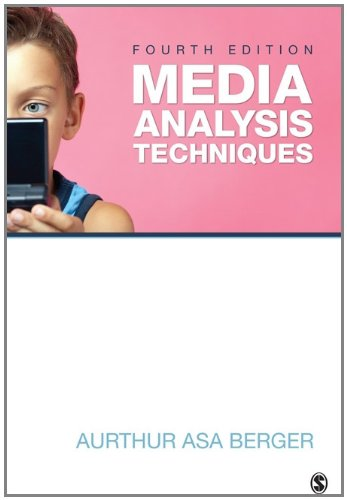 Media Analysis Techniques  4th 2012 edition cover