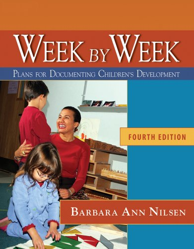 Week by Week Plans for Documenting Children's Development, Reprint 4th edition cover