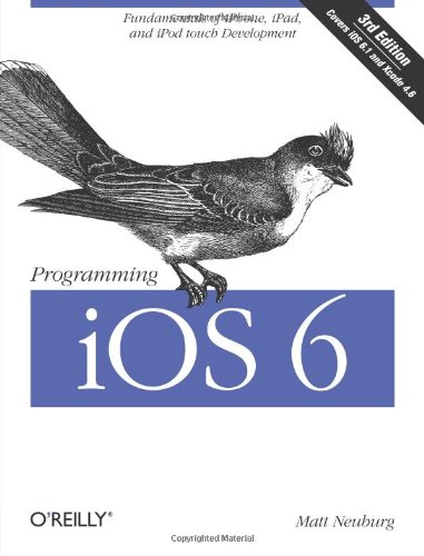 Programming IOS 6  3rd 2013 edition cover