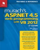 Murach's ASP. NET 4. 5 Web Programming with VB 2012   2013 edition cover