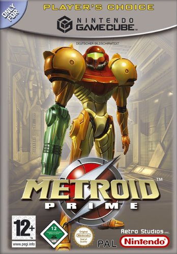 Metroid Prime [Player's Choice] GameCube artwork