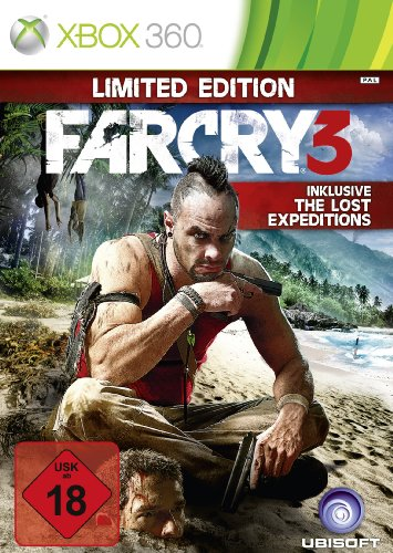 Far Cry 3 Xbox 360 artwork