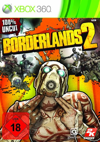 Borderlands 2 Xbox 360 artwork