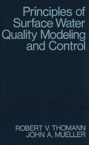 Principles of Surface Water Quality Modeling and Control   1987 edition cover