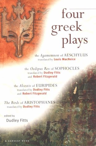 Four Greek Plays  N/A 9780156327770 Front Cover