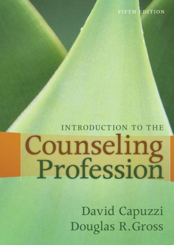 Introduction to the Counseling Profession  5th 2009 edition cover