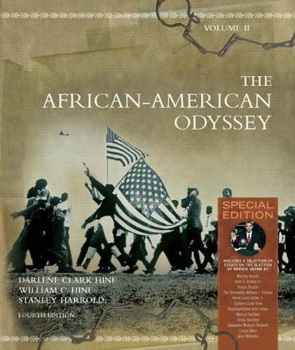 African-American Odyssey  4th 2010 (Special) edition cover