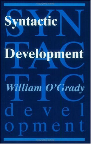 Syntactic Development   1997 edition cover