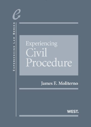 Experiencing Civil Procedure:   2013 9780314277770 Front Cover