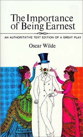 Importance of Being Earnest   1965 edition cover
