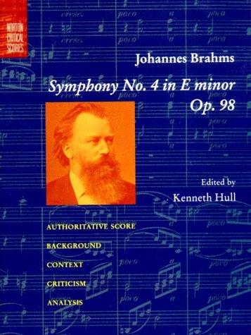 Brahms Symphony   2000 edition cover