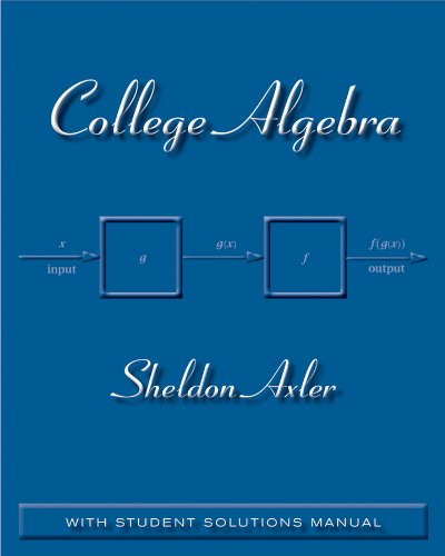 College Algebra   2011 9780470470770 Front Cover