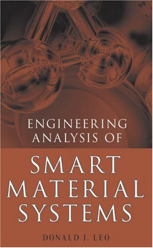 Engineering Analysis of Smart Material Systems   2007 edition cover