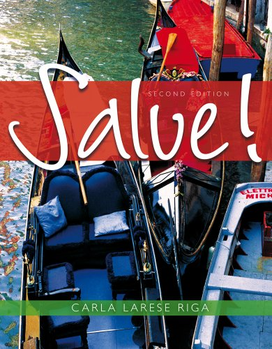 Salve!  2nd 2012 9780495907770 Front Cover