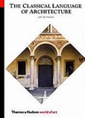 Classical Language of Architecture:   1980 edition cover