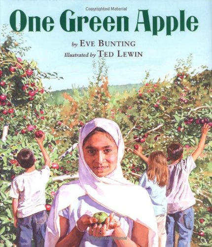 One Green Apple   2011 9780618434770 Front Cover