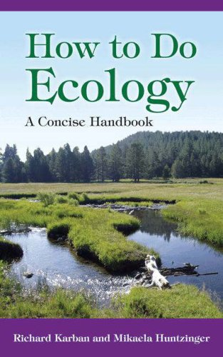 How to Do Ecology A Concise Handbook  2006 edition cover