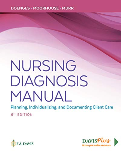Nursing Diagnosis Manual Planning, Individualizing, and Documenting Client Care 6th 2019 (Revised) 9780803676770 Front Cover