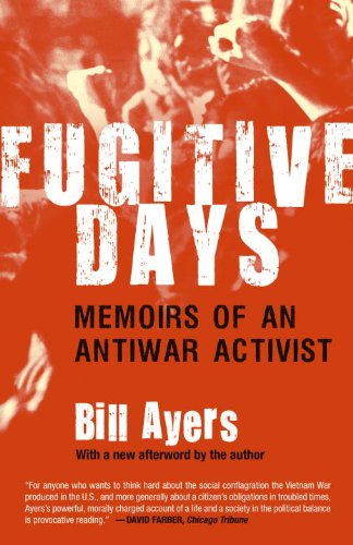 Fugitive Days Memoirs of an Antiwar Activist  2008 edition cover