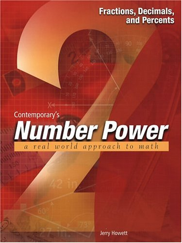 Number Power 2 Fractions, Decimals, and Percents  2000 edition cover